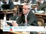 Alain MILLOT. Intervention en séance. 21 octobre 2011. Conseil général de la Côte-d'Or