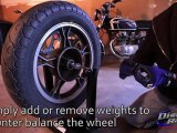Black Widow Motorcycle Wheel Balancer