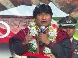 Evo Morales resalta resultados de elecciones judiciales