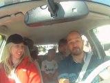 Nissan Leaf Test Drive at Livestrong Challenge