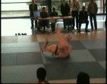 Thomas judo 2eme au tournoi minimes de Fresnes 2011