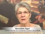 Les députés SRC ont auditionné la secrétaire générale de la Confédération Européenne des Syndicats (CES / ETUC), Bernadette Ségol