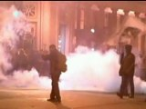 OCCUPY OAKLAND: Tear gas as protesters clash with police