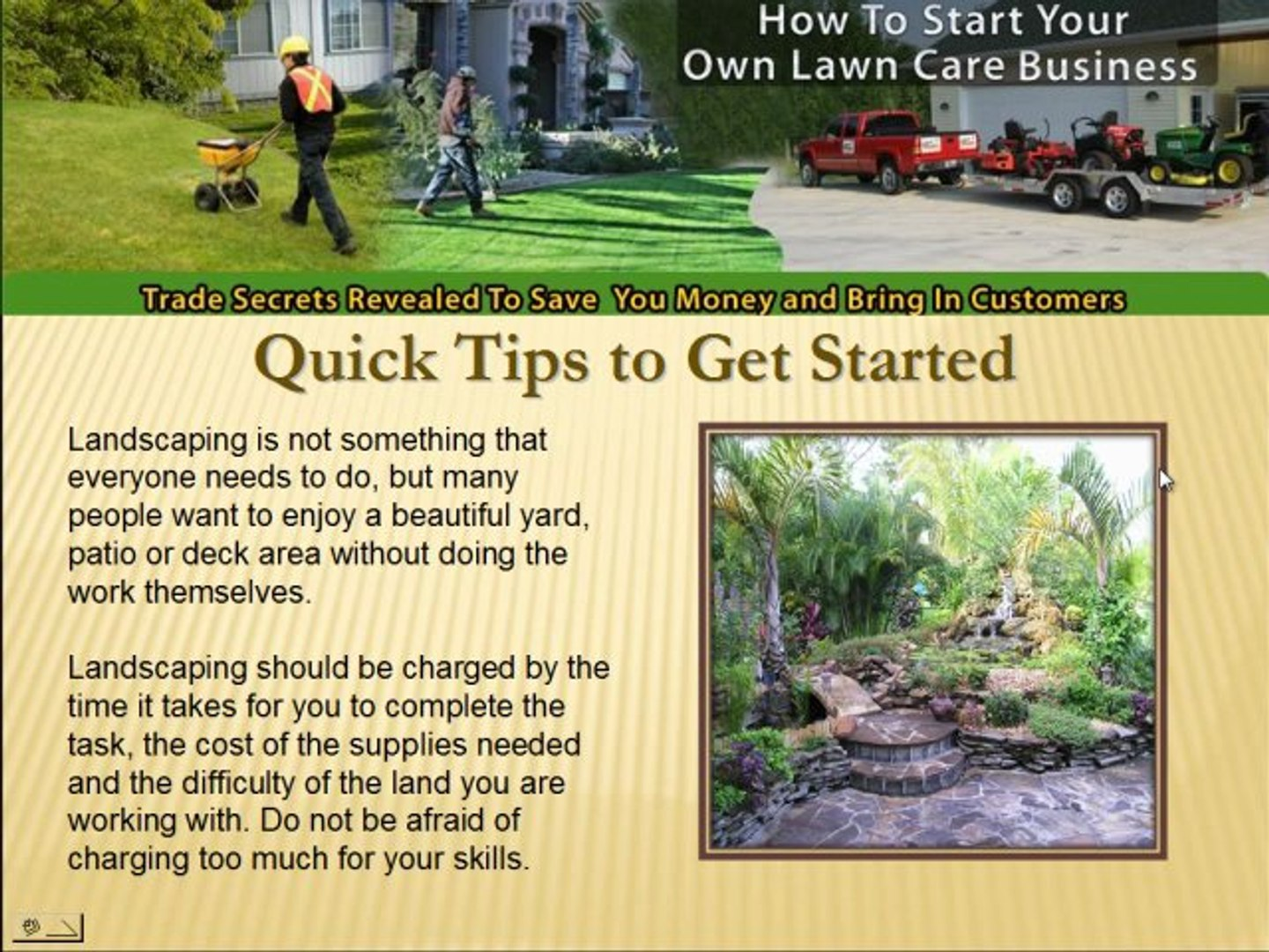 How To Start Your Own Landscaping Company Make Video