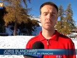 La neige s'installe dans les Hautes-Alpes