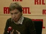 """Laurence Parisot, présidente du Medef : """"L'économie réelle commence à être atteinte par la crise"""""""