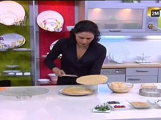 Choumicha - Dessert à la pâte feuilletée