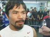 MANNY PACQUIAO: Interview ahead of Las Vegas Marquez fight