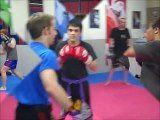 Spy Cam: Focus Pad Seminar | MMA, BJJ, and Muay Thai in Plymouth | 30 Days FREE