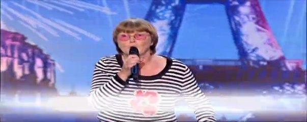"""Georgine Brion : """"Pau-pau-paulette !"""" - La France a un incroyable talent"""