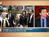 Les BRICS et le Japon se disent prêts à aider la Zone Euro