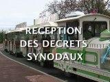 Réception des décrets synodaux à Maisons-Laffitte
