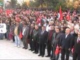 Burdur Halkı Yasak Dinlemedi; Cumhuriyet Yıkıcılarına Rağmen Cumhuriyet Bayramı Halk Yürüyüşü Yaptı