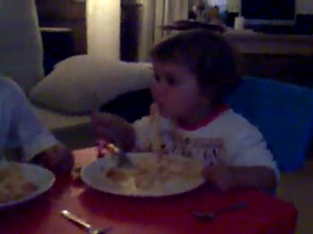 Comiendo Pasta con Jana, Sara e Isra