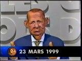 Extrait De l'emission LES GUIGNOLS DE L'INFO Mars 1999 Canal+