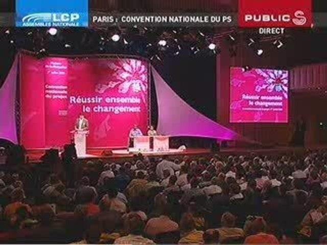 Arnaud Montebourg - Convention Nationale