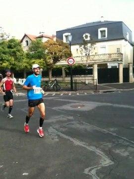 Marathon de Vincennes 2011  - Passage au semi