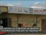 Denuncian al CNT por violaciones a los DDHH en Libia