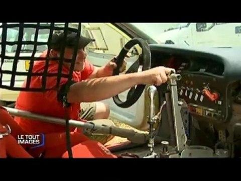 Rétro des 40 ans de l'autocross de Saint Georges de Montaigu