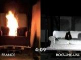Test au feu: canapé anglais vs canapé français