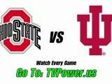 Watch Ohio State Buckeyes vs Indiana Hoosiers football onlin