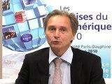Assises du numérique 2010 - Jacques RAMES - Président de Motorola France, Directeur Europe de l'Ouest de l'activité Réseaux