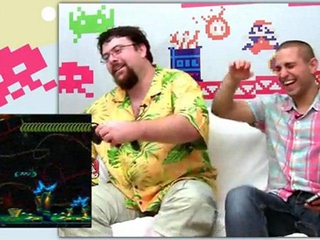 "Garfield ""Mega Drive"" Retro Game Test."