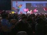 Convention d'investiture : l'entrée de François Hollande et Martine Aubry