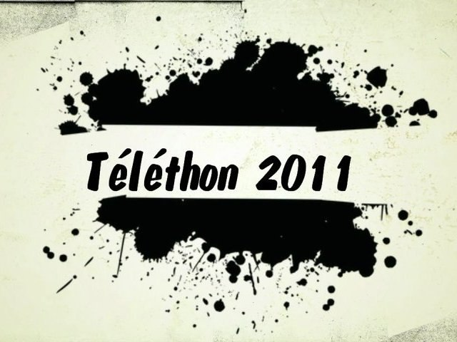 Mobilisation Action Téléthon 2011