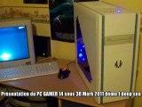 Presentation et test PC Gamer 14 en composant 2011 sous 3D mark 2011,graphique,processeur,combiné,aliens vs predator demo technique directX 11