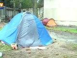 Décès d'un enfant né sous une tente à Paris
