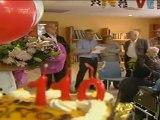 Ana Vela, la persona más longeva de Cataluña cumple 110 años