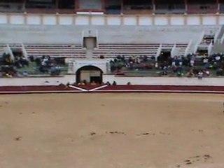 L'equipe du Ranch Le Petit Sam au Telethon 2011 aux arènes de Béziers