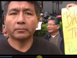 GERENTE ADMINISTRATIVO Y TRABAJADORES DE LA MUNICIPALIDAD DE LOS OLIVOS DECLARAN EN HUELGA INDEFINIDA