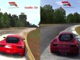 Forza Motorsport 3 vs Forza Motorsport 4 - Ferrari 458 Italia at Road Atlanta