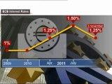 Bce: Draghi taglia i tassi