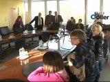 Conseil municipal des enfants en visite au Conseil Général 68