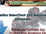 Bowflex Adjustable Dumbbells Reviews