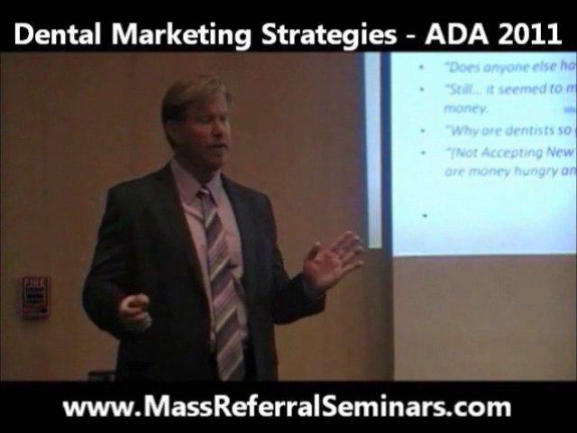 Mass Referral 2.0 Seminars – Dental Marketing Secrets Revealed at the 2011 ADA in Las Vegas