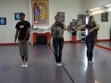 """Entrainement 2 pour la Flash mob sur la musique """"des ricochets"""" pour l'UNICEF (Jeunes Ambassadeurs du Puy en Velay)"""