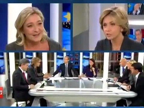 Débat sur la crise : Marine Le Pen/Mélenchon/etc.
