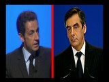 La France en faillite vue par Sarkozy et Fillon