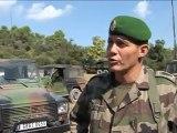 1er Régiment étranger Exercice Vaillant à Cuges-les-pins