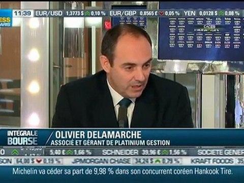 Olivier Delamarche spécial banque société générale