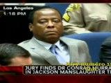 Procès Jackson : le Dr Murray a été jugé coupable