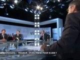 Robert Rochefort invité d'Yves Calvi dans Mots croisés