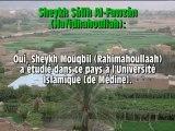 Sheykh Al-Fawzân sur Sheykh Mouqbil (Rahimahoullah)