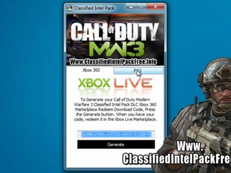 How to Get Call of Duty Modern Warfare 3 Classified Intel