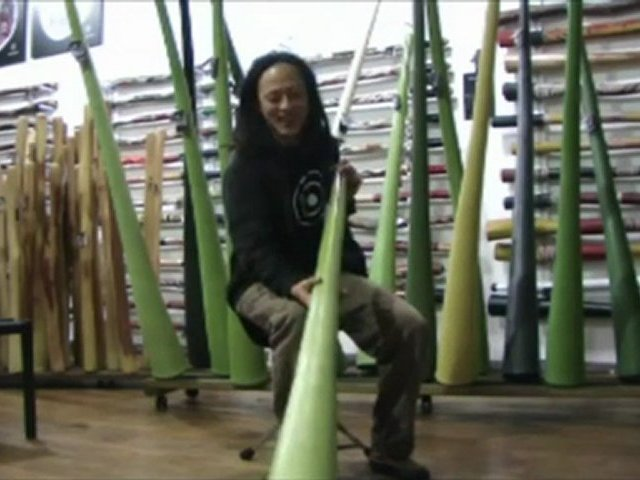 Jon Worsley Hemp Didgeridoos Demo Model 1044
