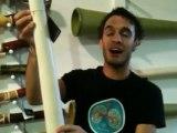 Didgeridoo Store Product Demo - Hemp Didge key D MN 825